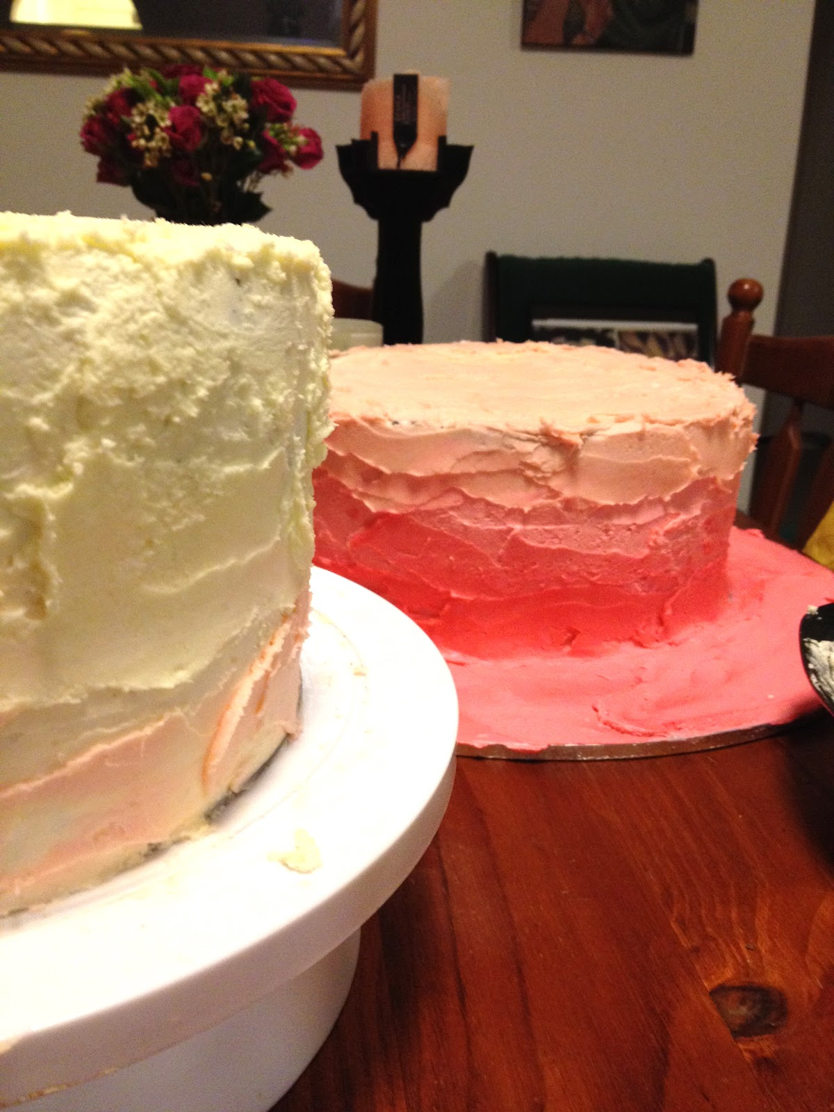 Rustic Icing And Burlap Wedding Cake