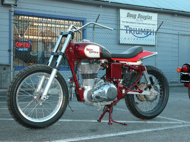 Royal Enfield Bullet Flat Tracker Motorcycle
