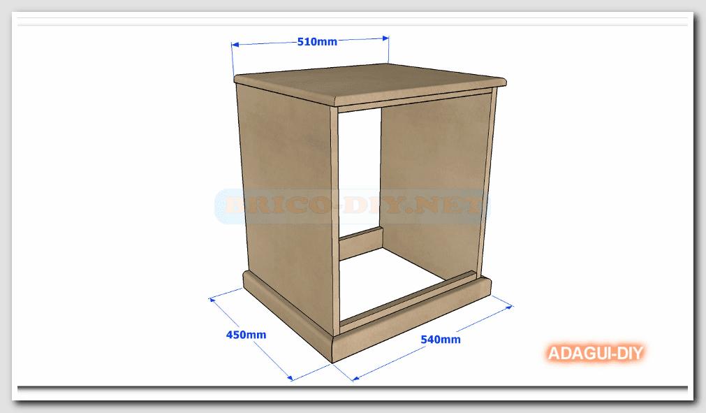 Como hacer velador de mdf v deo como hacer m dulo b sico for Como hacer una cajonera de madera paso a paso pdf