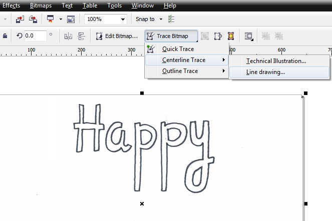 happy birthday card corel draw tutorial