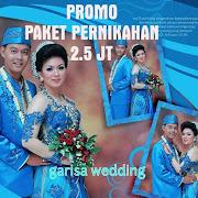 Garisa Wedding Organizer Menyediakan Paket Pernikahan, Jasa Rias Pengantin, Catering, Dekorasi prof