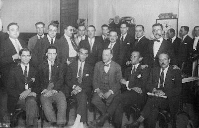 Equipo de ajedrez del Ruy López en 1926