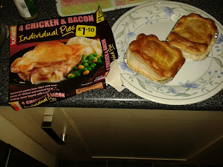 Iceland Chicken and Bacon Pies