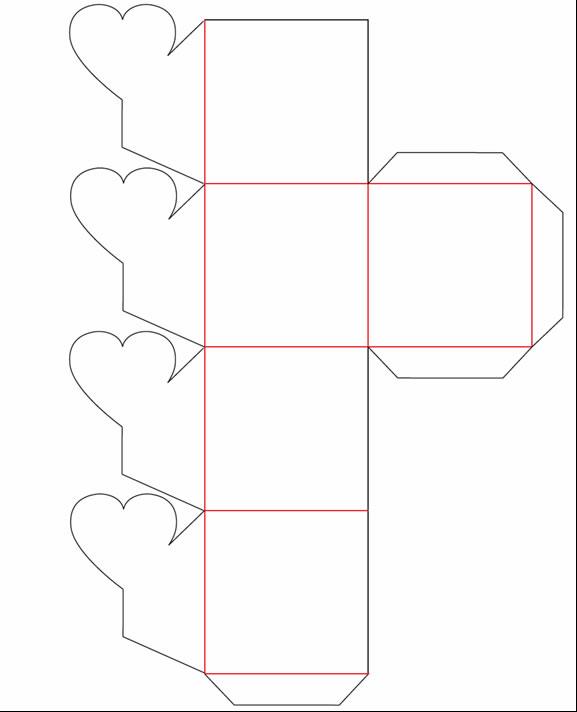 Taller regalarte caja plegable mariposa - Como hacer una caja con carton ...