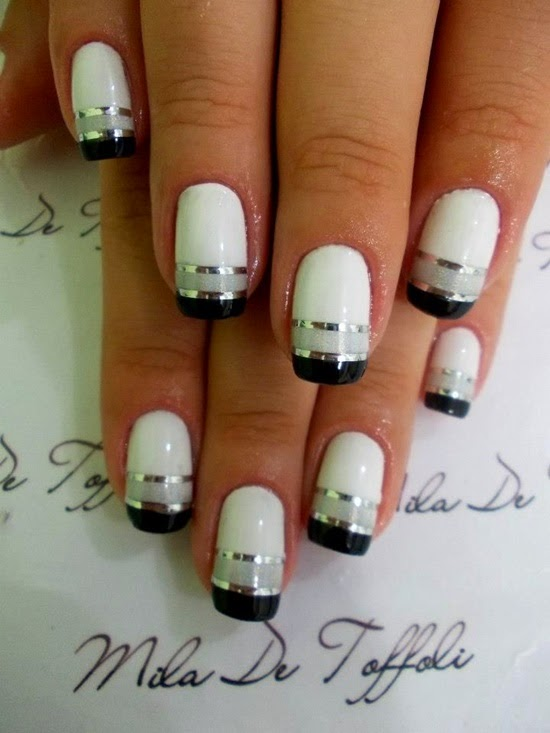 15 Simple And Easy Nail Art Ideas Nilmeshhttpnails Sidespot