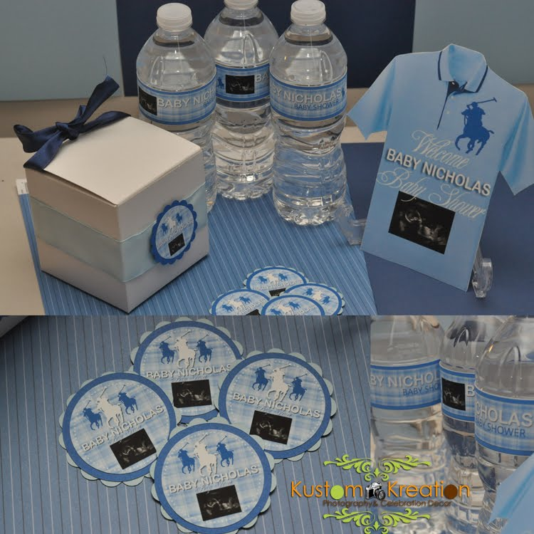Polo Theme Baby Shower