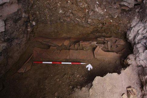 Βυζαντινό νεκροταφείο έκρυβε στα σπλάχνα της η Μεγάλη Οδός του Πέρα