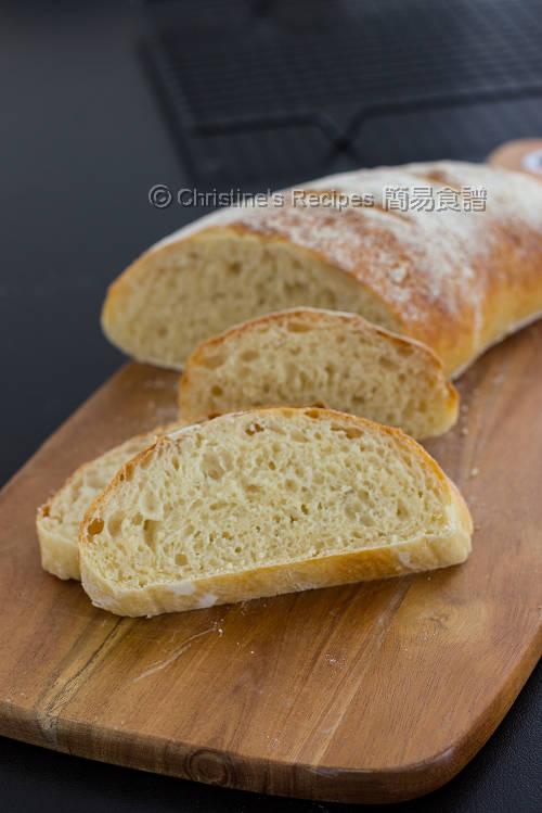 免揉麵包 No-Knead Crusty Bread03