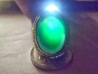 Batu Cincin Green Topaz