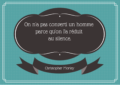 citation, censure, silence, christopher morley,