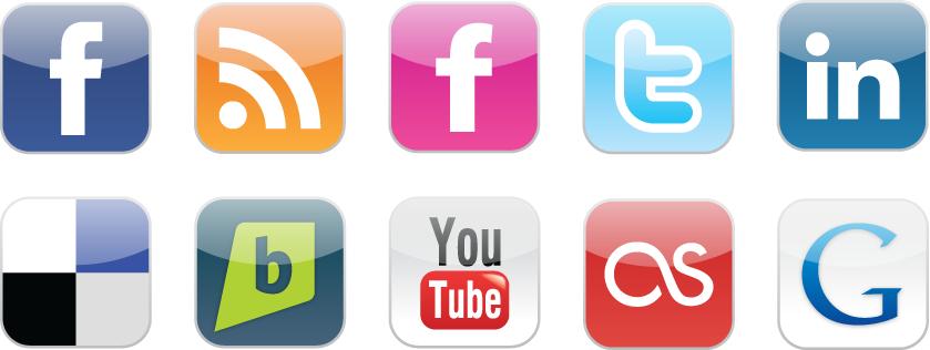 Top Social Media Icons Top 10 Famous Social Media