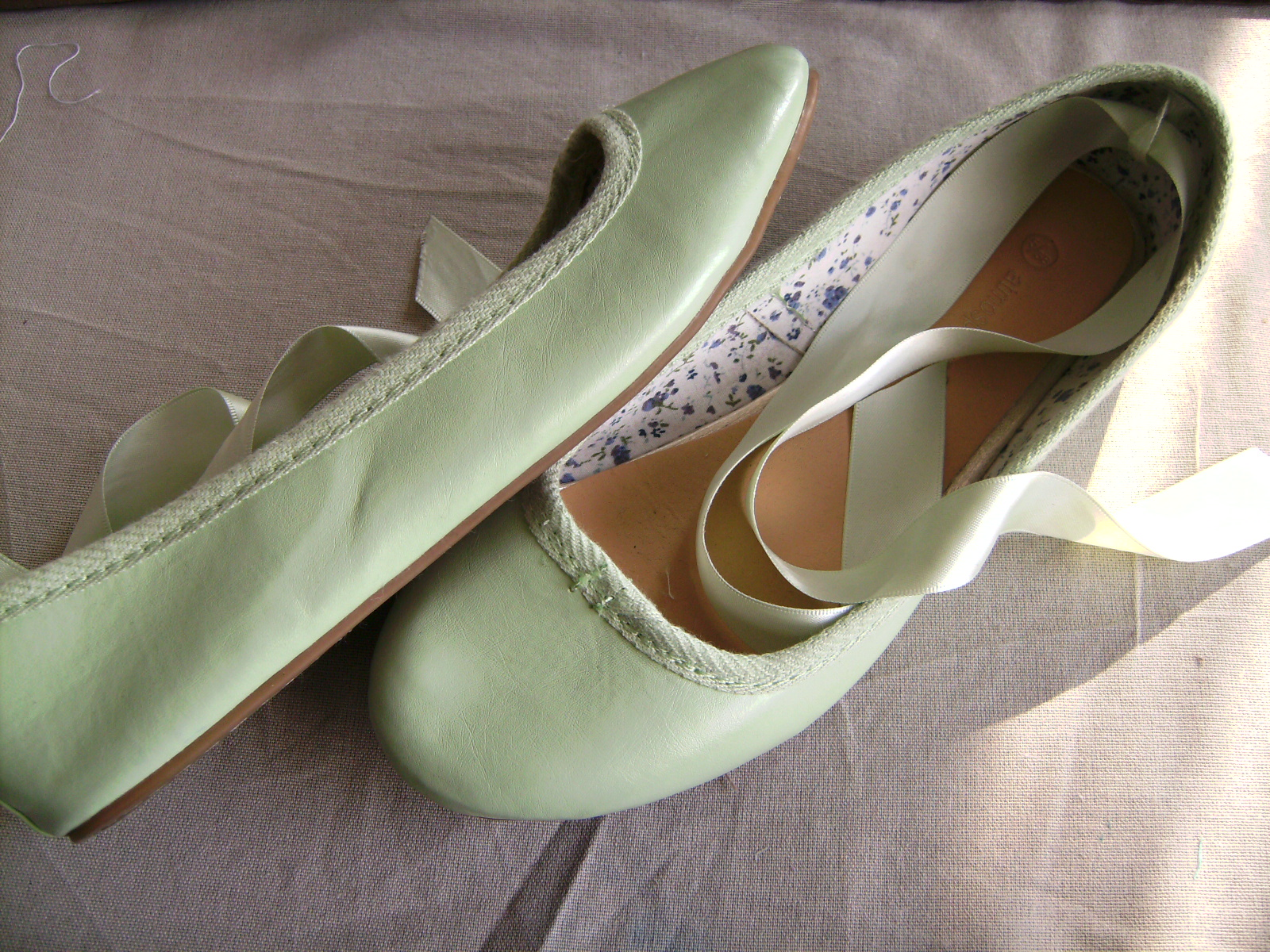 Find great deals on eBay for ballet flats with ribbon. Shop with confidence.