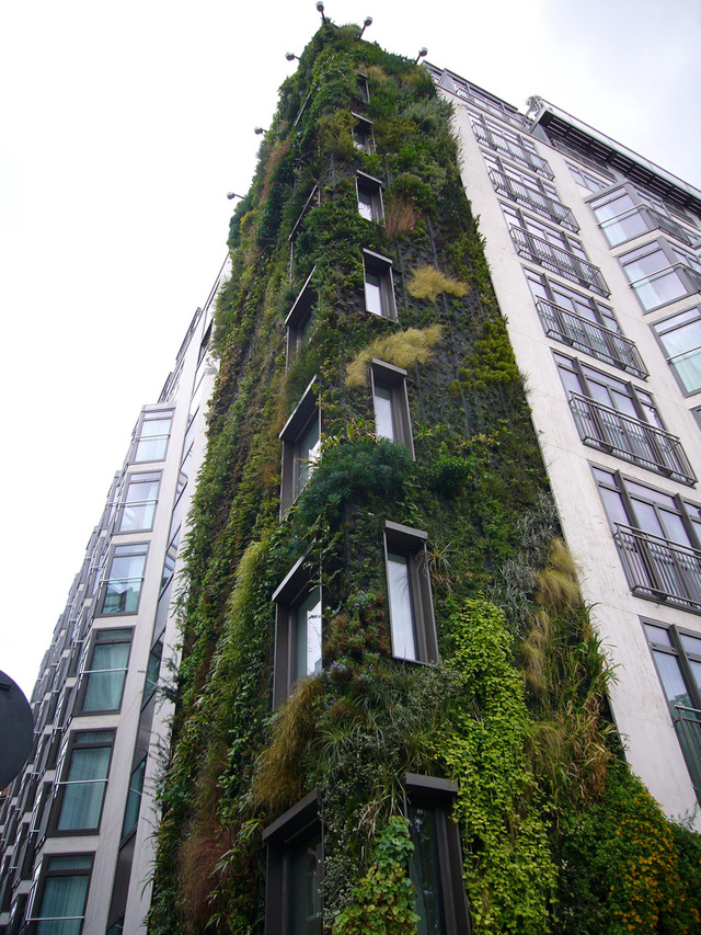 Hotel de Londres tem jardim vertical na fachada