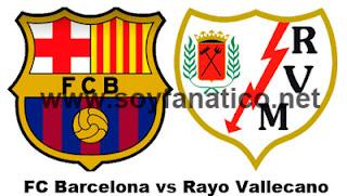 Partido Barcelona vs Rayo Jornada 21 Liga BBVA