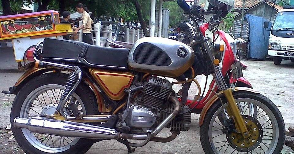 MOTOR BEKAS HONDA CB TWIN JADUL