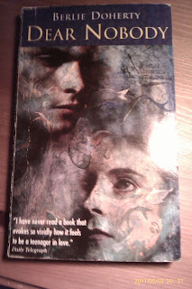 a book report on dear nobody by berlie doherty Teen fiction books help  -dear nobody by berlie doherty -uglies by scott westerfeld  early on in the book,.