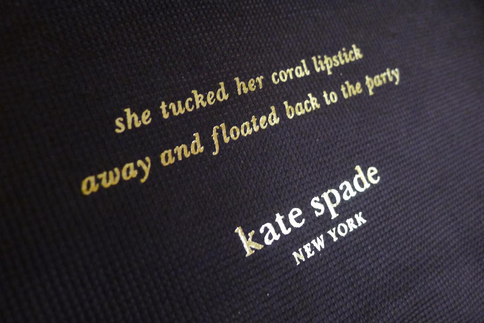 Kate Spade Quotes Bag Of The Moment Kate Spade's Cedar Street Harmony  Tina Villa