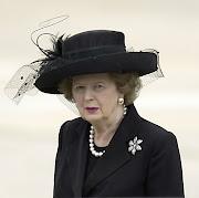 Margaret Thatcher foi criada atrás do balcão do armazém de seu pai. thatcher