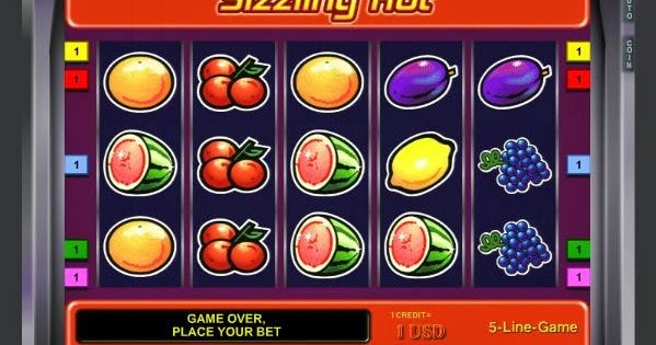 free online slots games play sizzling hot