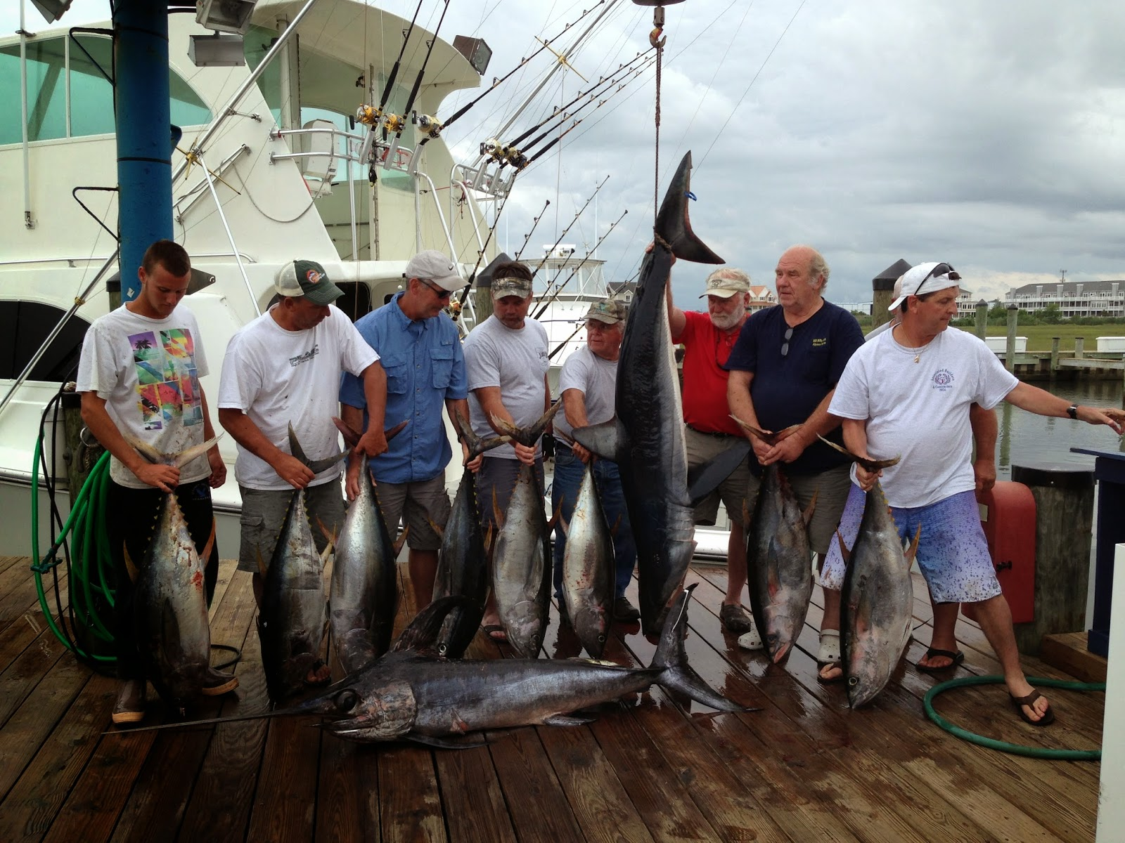 Jade ii overnighter photo daily reports news ocean for Ocean city fishing center
