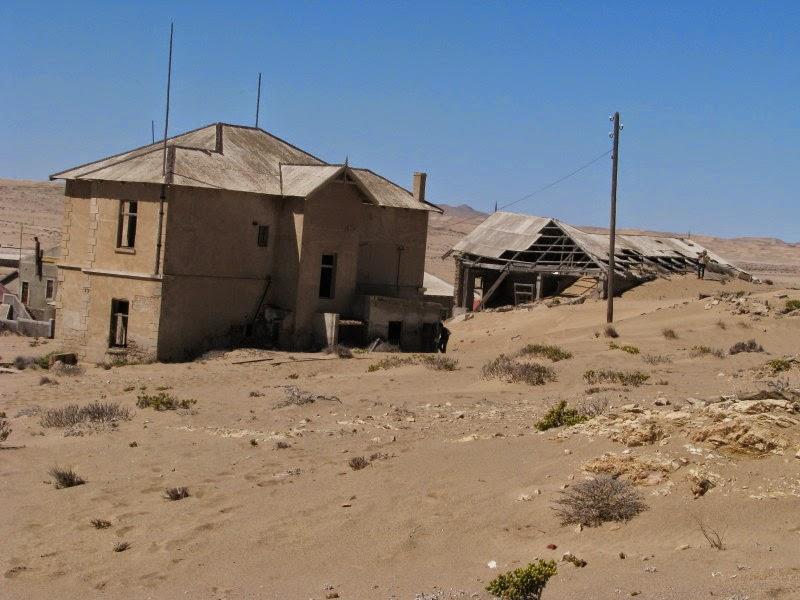 Kolmanskop - vergane heerlikheid!