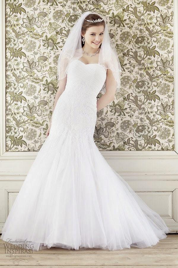 Khám phá một số mẫu váy cưới đẹp nhất năm 2014