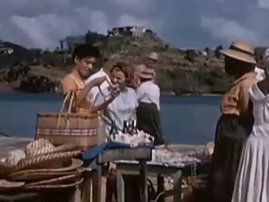 Sunshine in St Lucia in the 1950s  VIDEO
