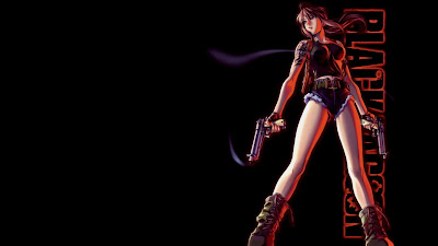 Revy Anime Character Wallpaper 1366x768