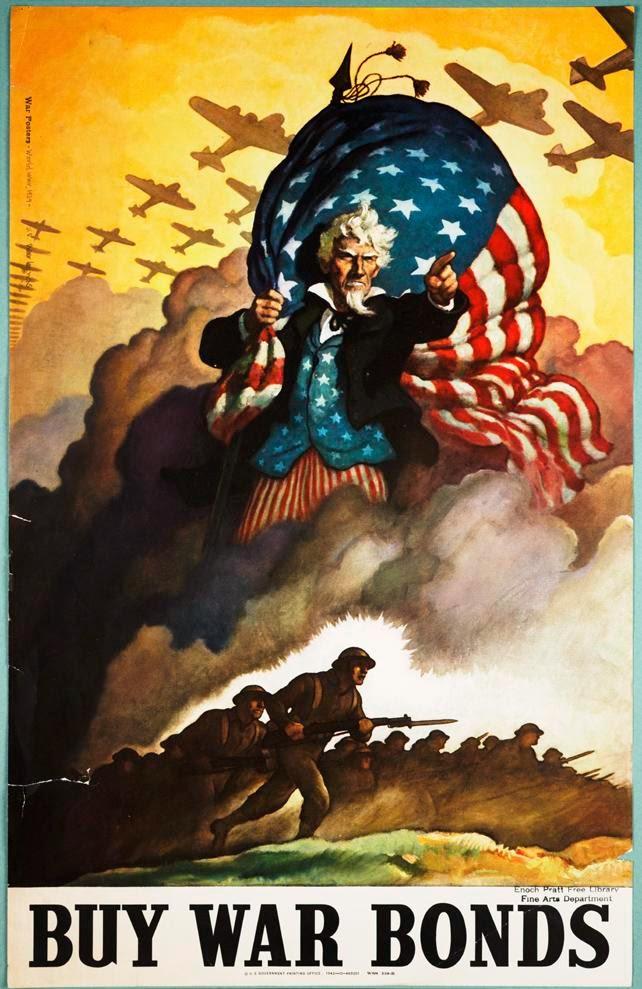 Cartel War Bonds - Segunda Guerra Mundial