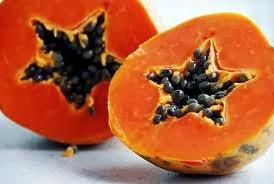 papaya, comida saludable, frutas