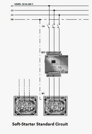 Soft-Starter Standard Circuit