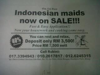 Usut Tuntas Kasus Iklan 'TKI on Sale' di Malaysia