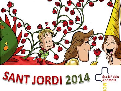 Activitats de St Jordi 2014