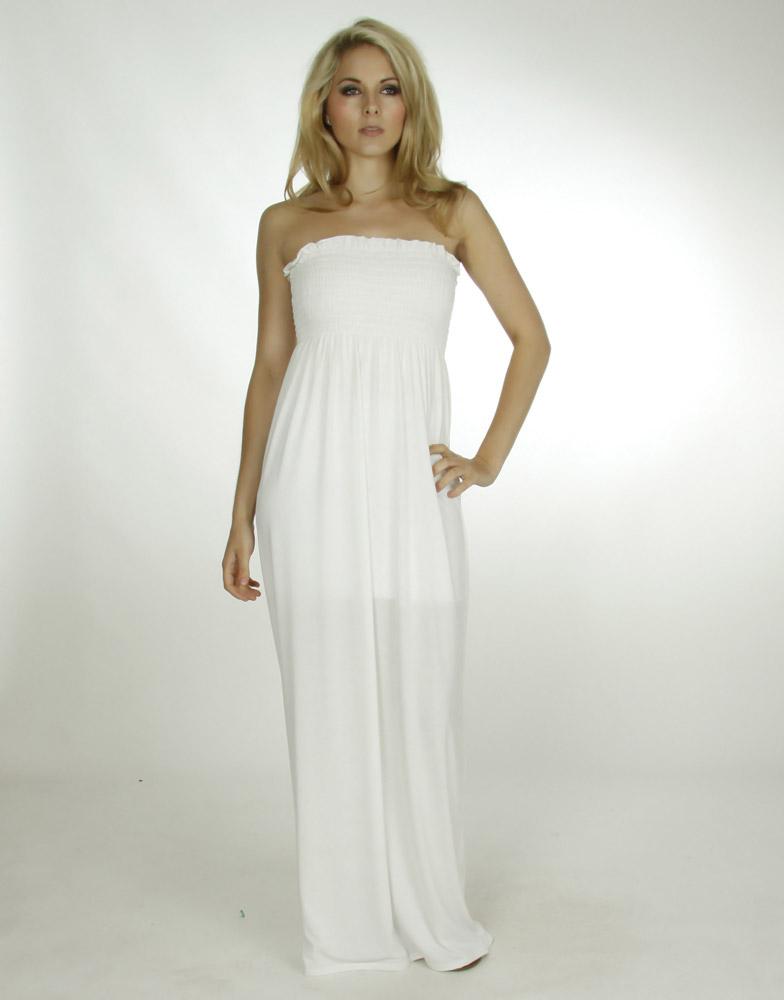 White maxi dresses for teens
