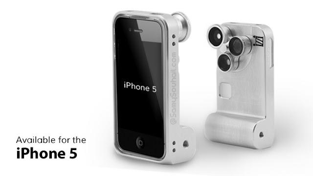 أداة Izzi Orbit تحول الآيفون 5 الى كاميرا فوتوغرافية.. لهواة التصوير