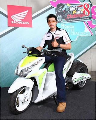 Modif Honda Vario Techno 125-3