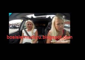 araba süren kız videosu, resimleri