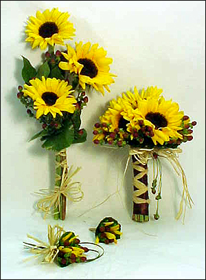 Anointed Creations Wedding and Event Planning: Sunflower Themed