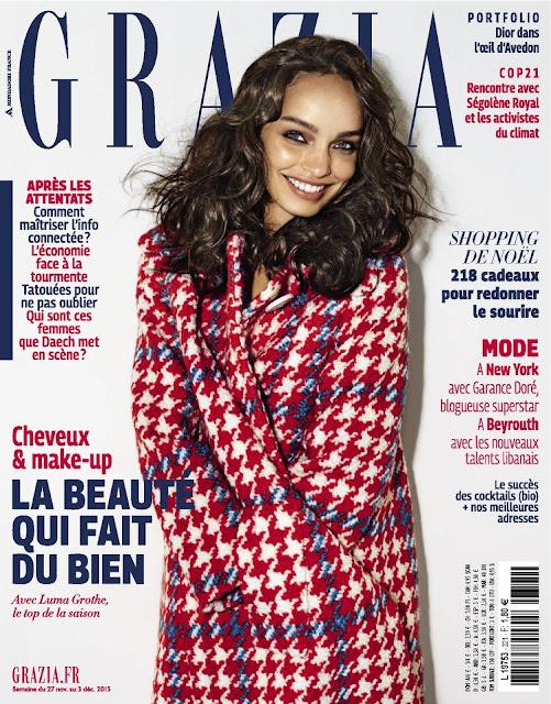 Fashion Model, @ Luma Grothe - Grazia France, November/December 2015