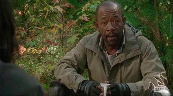 Morgan en The Walking Dead 5x16