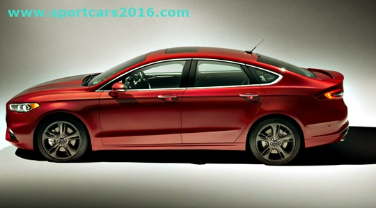 2017 Ford Fusion Changes