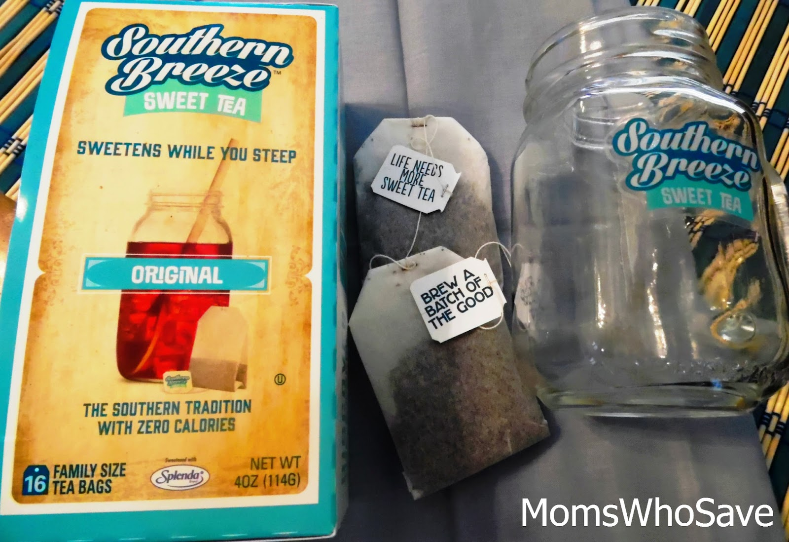 Zero-Calorie Sweet Tea -- Southern Breeze Sweet Tea is Here + a Giveaway!