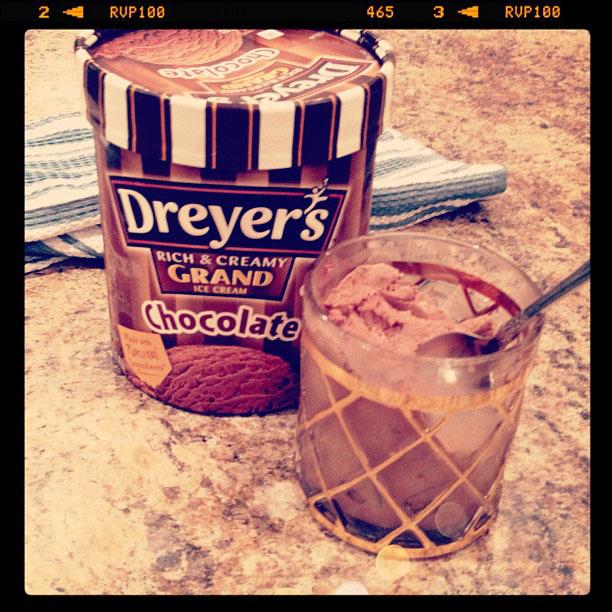 chocolate ice cream, neiman marcus for target glasses