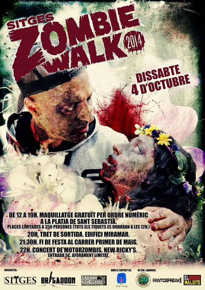Sitges 2014: Zombie Walk