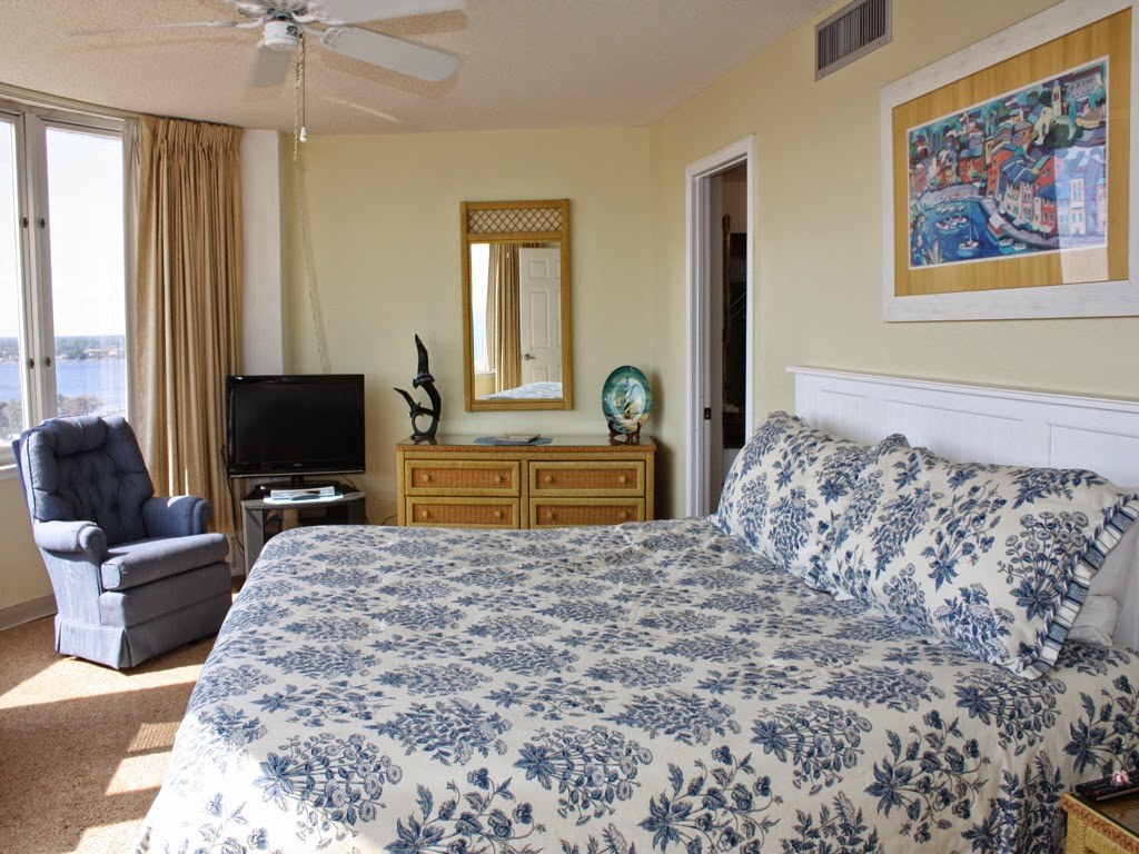 Daytona Beach Peck Plaza Oceanfront Rental Condo Master Suite