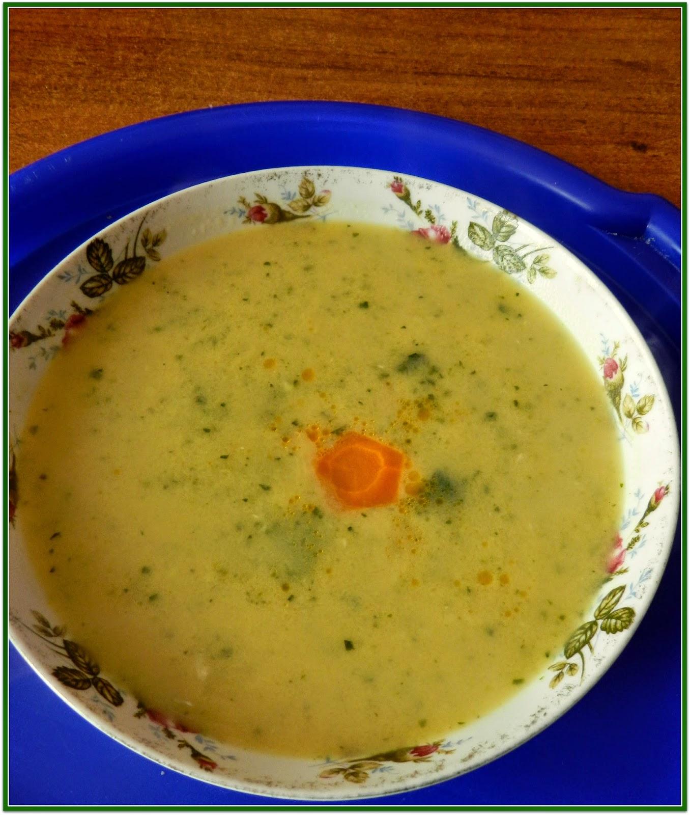 zupa z cukinii z wędzoną papryką