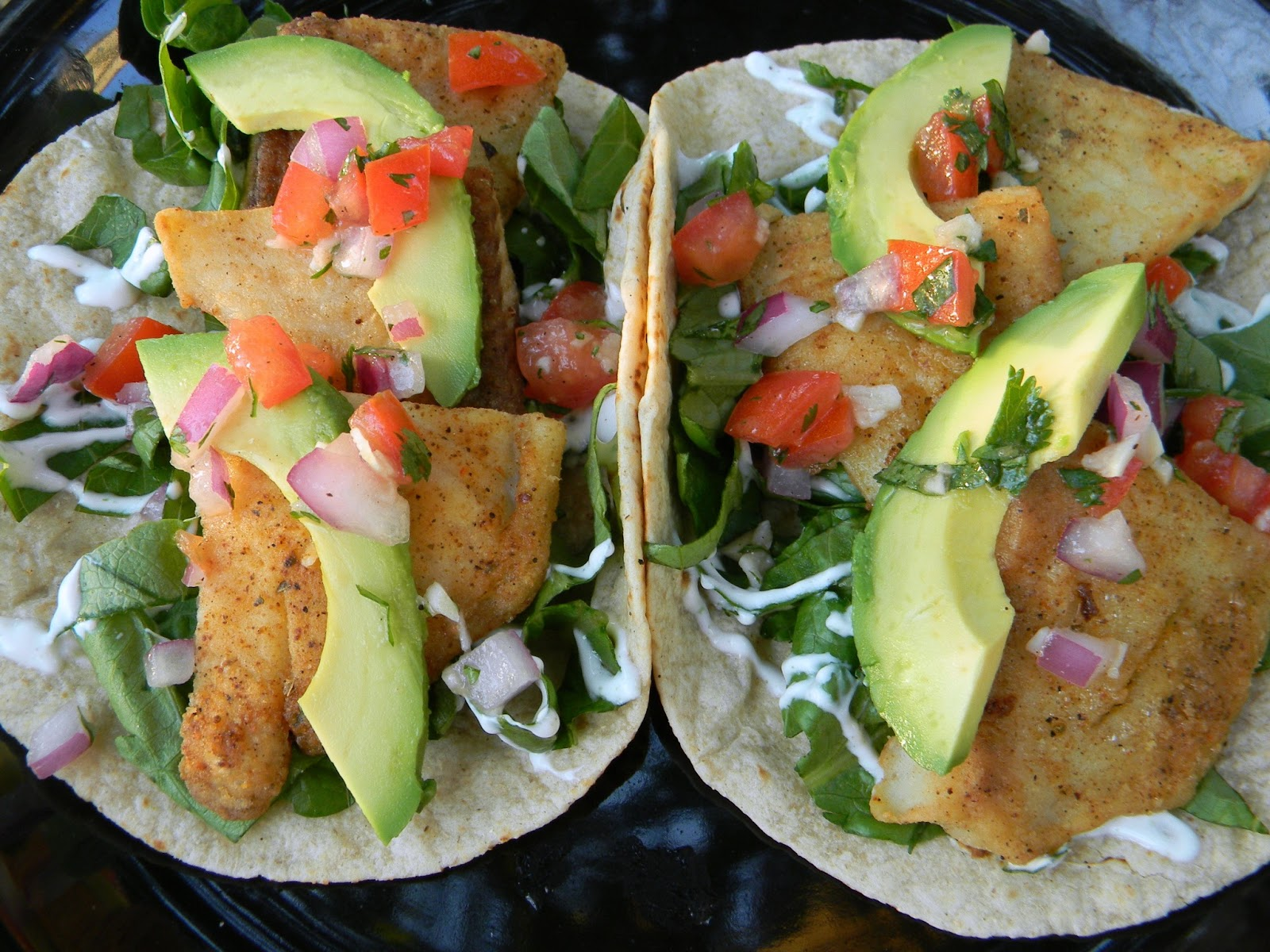 Kitten with a whisk blackened fish tacos for Blackened fish tacos