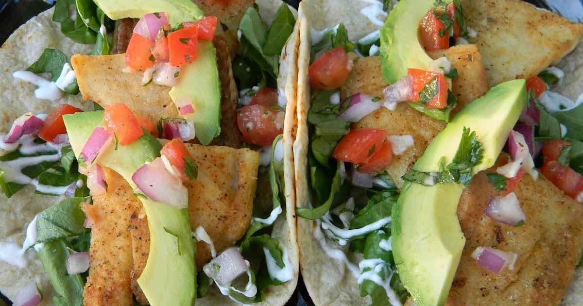 Blackened Fish Tacos Recipe Food Network