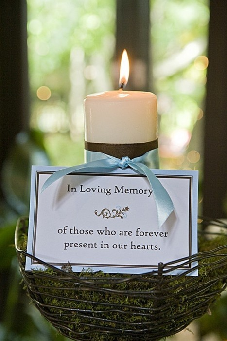 Angee\'s Eventions: Honoring Deceased Loved Ones During Wedding ...