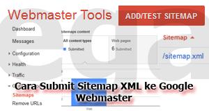 Cara Submit Sitemap XML ke Google Webmaster